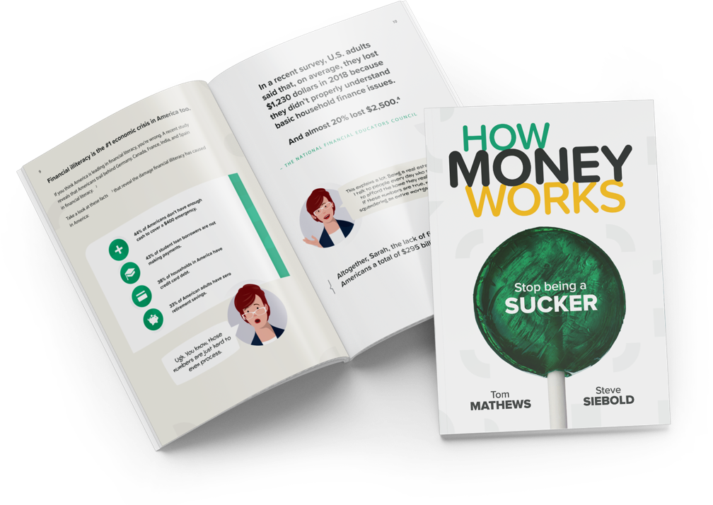 How Money Works book spread