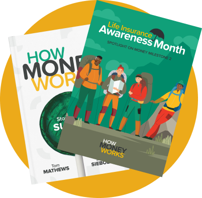 Get the critical Milestone 2 chapter from the HowMoneyWorks book.
