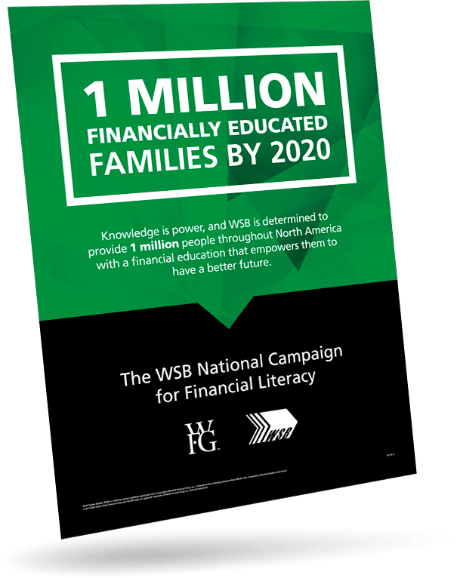 1 Million Financially Educated Families by 2020